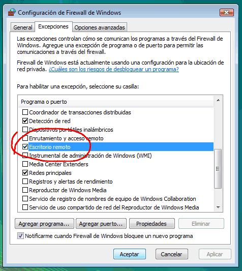 Configurar windows vista para acceder remotamente taringa for Conexion escritorio remoto windows 8